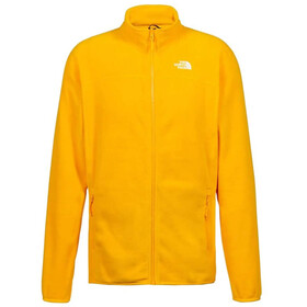 The North Face 100 Glacier Veste polaire zippée Homme, summit gold